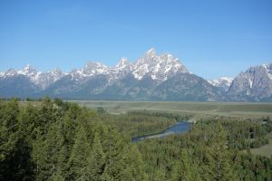 The Grand Tetons by Smabbage