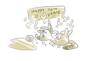 Happy New Year by MeowTownPolice