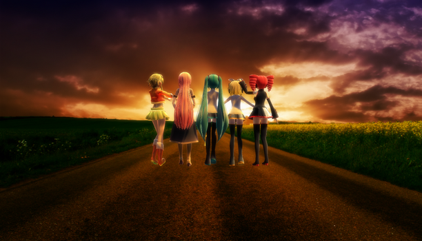 .:MMD:. Road to Horizon by CocoaNutChomChoms