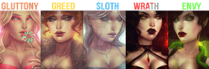 The Seven Deadly Sins (CLOSED) by koaIamama