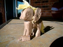 Derpy Hooves Woodwork by xofox