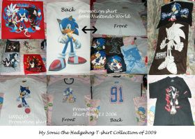 Sonic Merch - T-SHIRT WAR by Chibiko