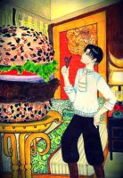 Kyojin Burger for Levi ^^ by eirol87