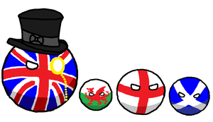 Polandball: The British Family by Duke-Nidhoggr
