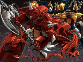 Getter Robo G by Omni-Existence