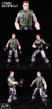 Chris Redfield of STARS by Jin-Saotome