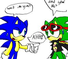 omg sonic and scourgeXD by nickyb123