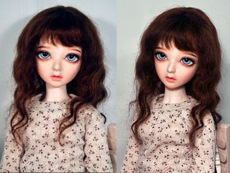 Chloe's new face up.. by L63player
