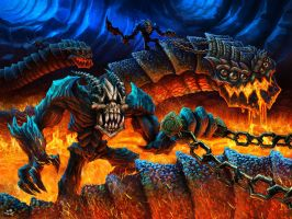 Lava Worms Rider Hell Yeah FXed Edition by GrizzlySword