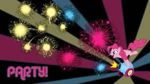 Pinkie Pie Party wallpaper by ALoopyDuck