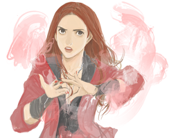 Scarlet Witch by Hopor