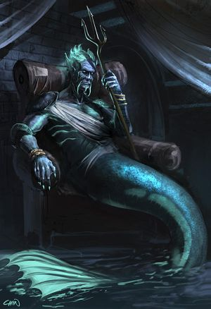 The Mer King by Chenzan