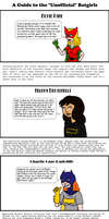 A Guide to Unofficial Batgirls by EspanolBot
