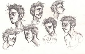 Liam Expressions by sawebee