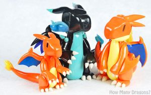 Charizard Family Portrait