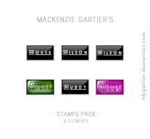 House M.D. Stamps Pack by MBGartier