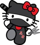 Hello Kitty Ninja by Pink-JT