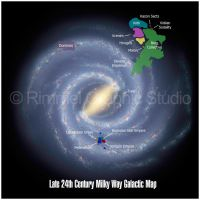 24th Century Galactic Map by keiku