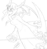 BRS: Dead Master lineart by Artifedex