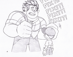 Call me mister fix-it by Joey-Darkmeat