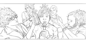 Cage the Elephant WIP by StrangerOfTheEast