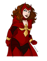 Phoenix Five: Scarlet Witch by msciuto