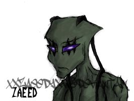 IZ-OC Zaeed by xXZaeedyXx