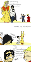 Trigun Guys - BABY by theanimejump