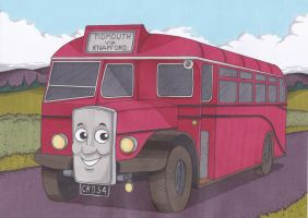 Bertie the Bus by Nick-of-the-Dead
