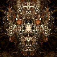 fractal demon by PeterKrijger