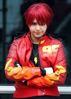 Lightning McQueen Cosplay by coolvanillia