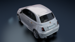 Fiat 500 White 2 by red33556