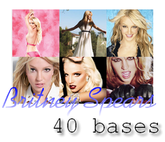 Britney Spears 40 bases by opentana