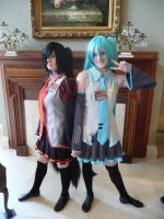 Vocaloid cosplay by ShiyoriPhantomhive