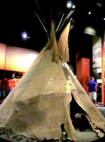 Native American Tipi by ApocaWarCry