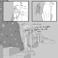 Tiny Christmascomic10 by ZEROXMISSION