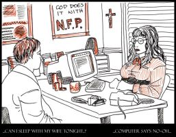 NFP: Computer Says No by whisperelmwood