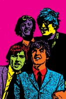 The Beatles in colour by calico-skies-1985