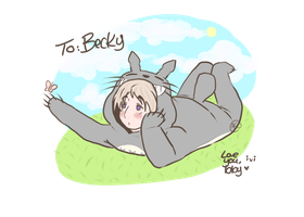 Gift: Totoro!Ivan by GorillazGirl1