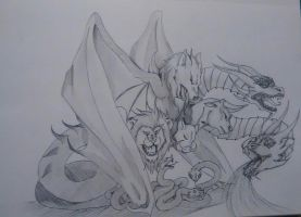 Dragon Typhon contest entry by LalitaAkuma