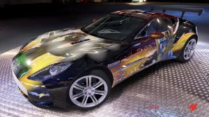 Spitfire Aston Martin One-77 by Crystal-Eclair