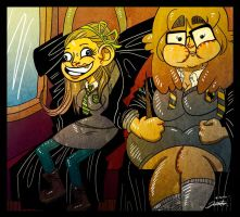 On our way to hogwarts!!! by PickledAlice