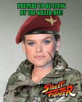Alice Eve as Cammy White by BlueWolfRanger95