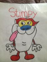 Stimpy by Sugerpie56