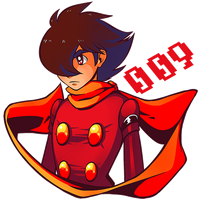 Cyborg 009 by Ktullanyx
