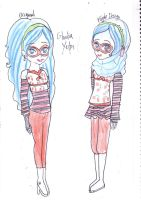 MH_Ghoulia Yelps' Hijab Design by FatinFantine