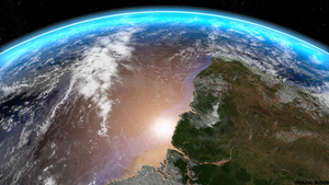 Hi Res Earth Orbit by UnsungBlood