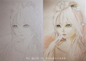 BJD drawing by milkmallow