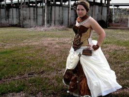Steampunk Dress by voodoo-cosplay