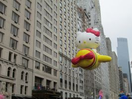 Hello Kitty balloon by renthegodofhumor